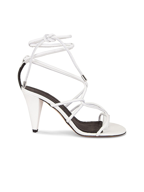 Abyka Sandal in White