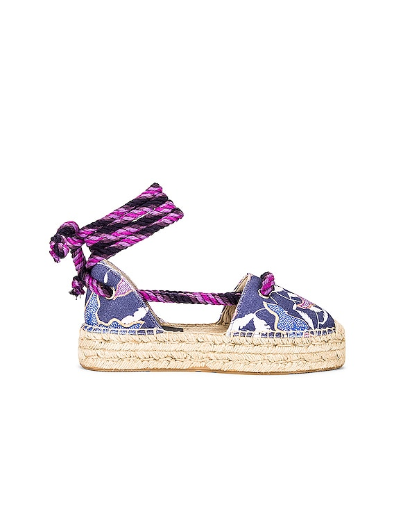 Crelyne Espadrille in Faded Night