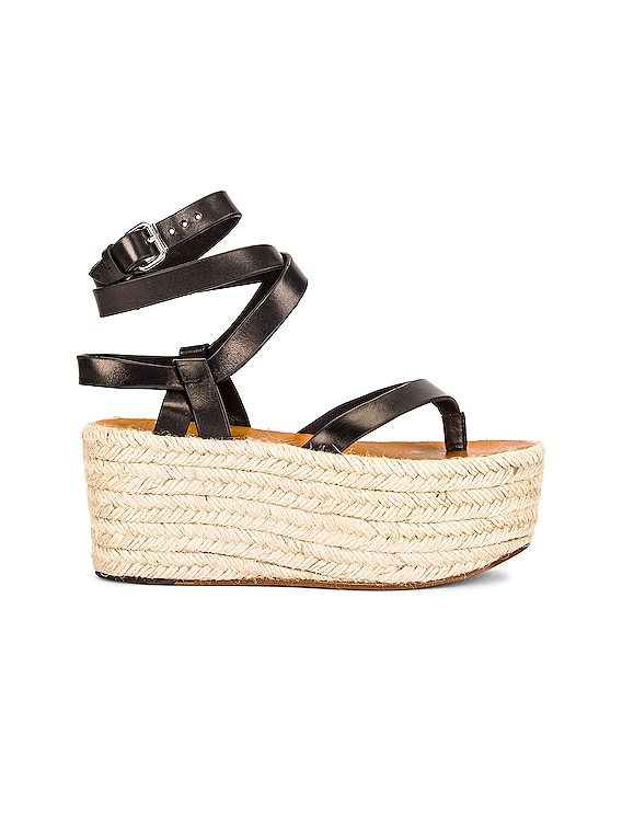 Mazia Sandal in Black