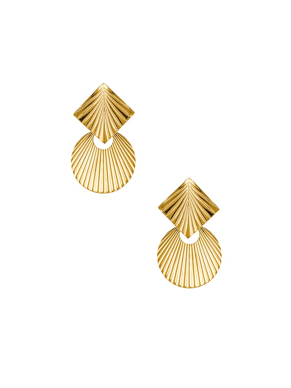 Giovanna Earrings in Gold