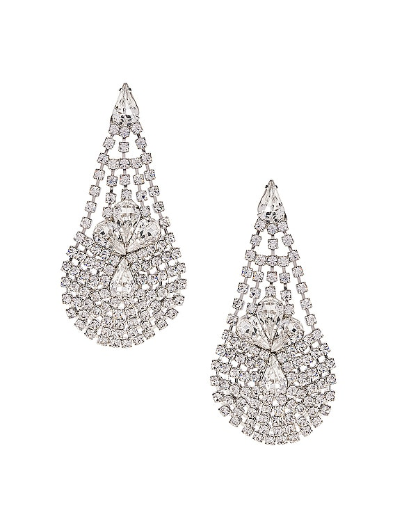 Giorgia Earrings in Crystal