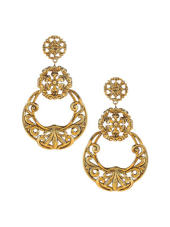 Shanna Earrings in Gold