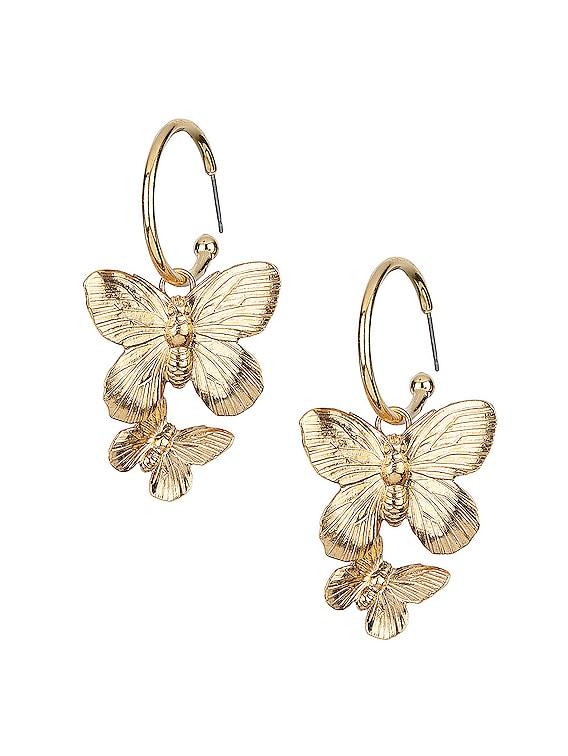 Brynn Hoop Earrings in Gold