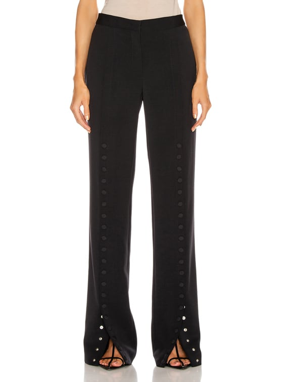 Snap Button Pant in Dark Blue