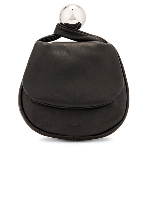 Sphere Pouch Bag in Black