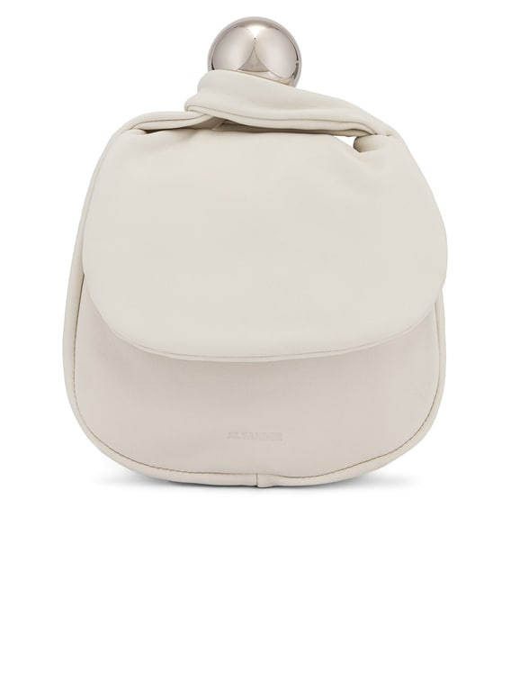 Sphere Pouch Bag in Optic White
