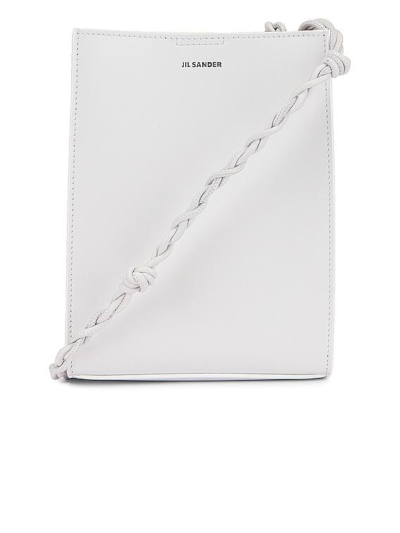 Small Tangle Crossbody Bag in Optic White