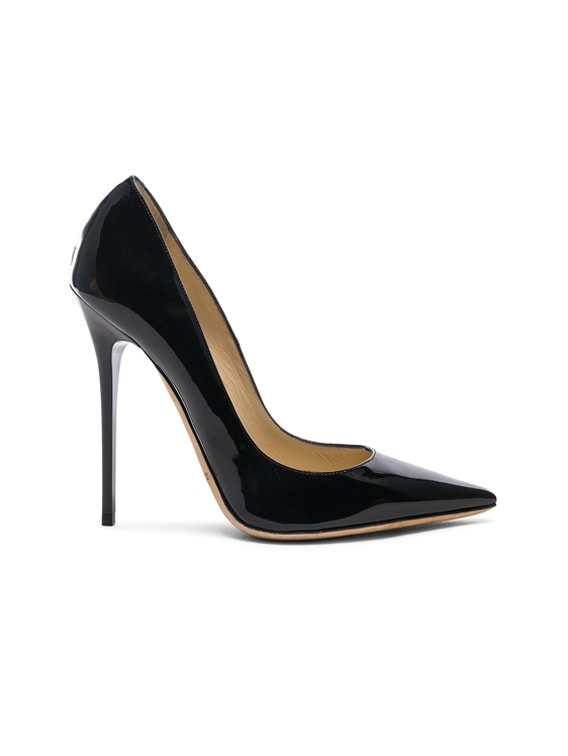 Anouk 120 Patent Leather Pump in Black