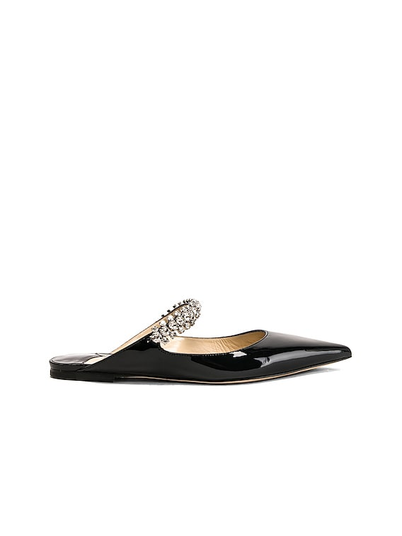 Bing Patent Leather Flat in Black
