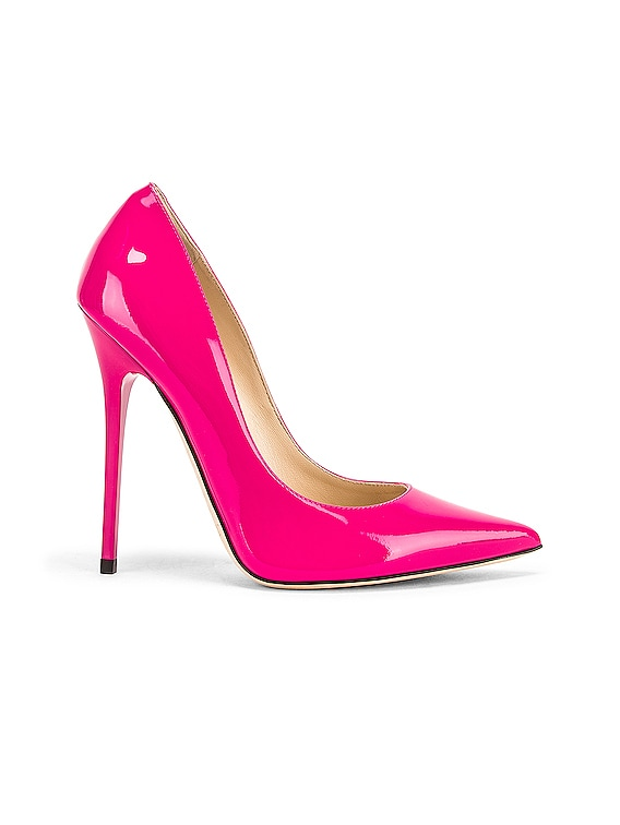 hot pink jimmy choo shoes