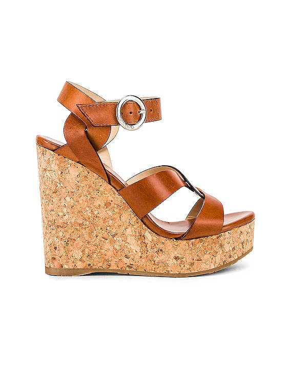 Aleili Wedge Heel in Cuoio