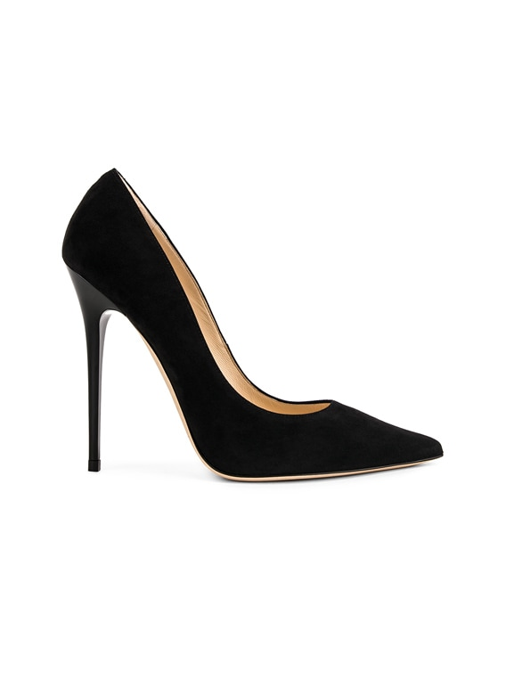Anouk 120 Suede Pumps in Black