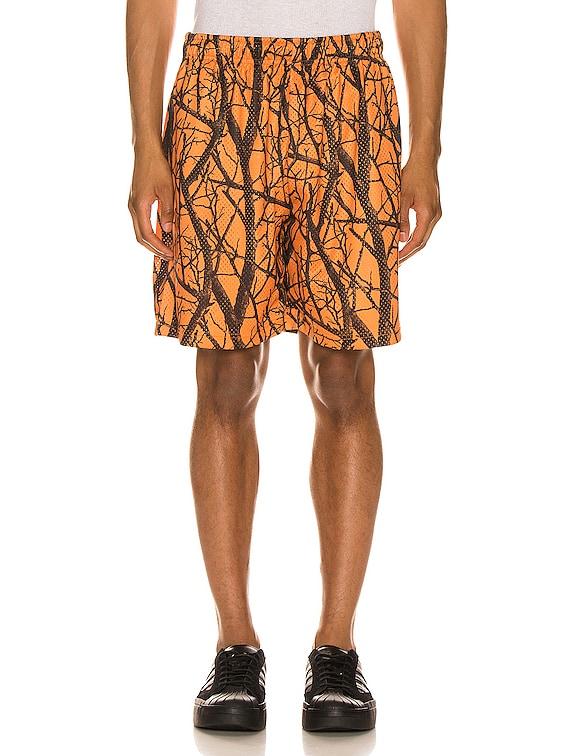 Practice Shorts in Duck Club Orange