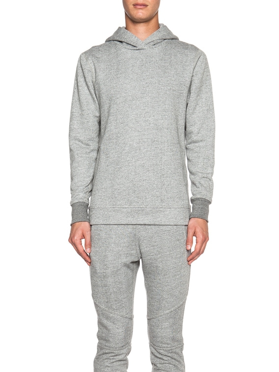 Hooded Villain in Grey