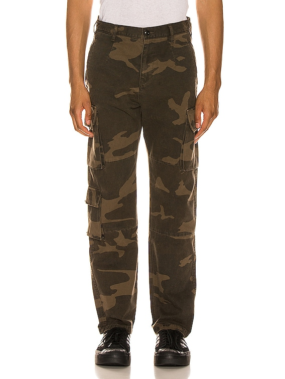 Utility Cargo Pants in Black Camo