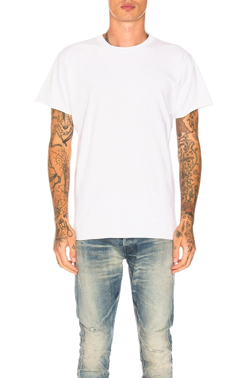 Anti-Expo Tee in White