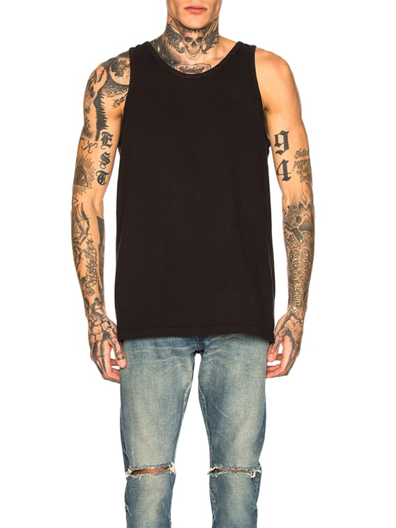 Rugby Tank in Black