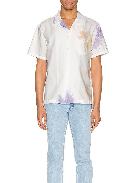 Bowling Shirt in Balboa Ink Bloom