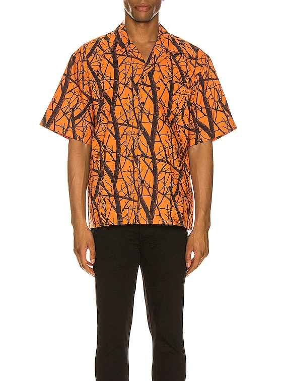 Camp Shirt in Suck Club Orange