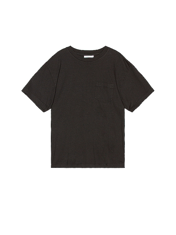 Lucky Pocket Tee in Black