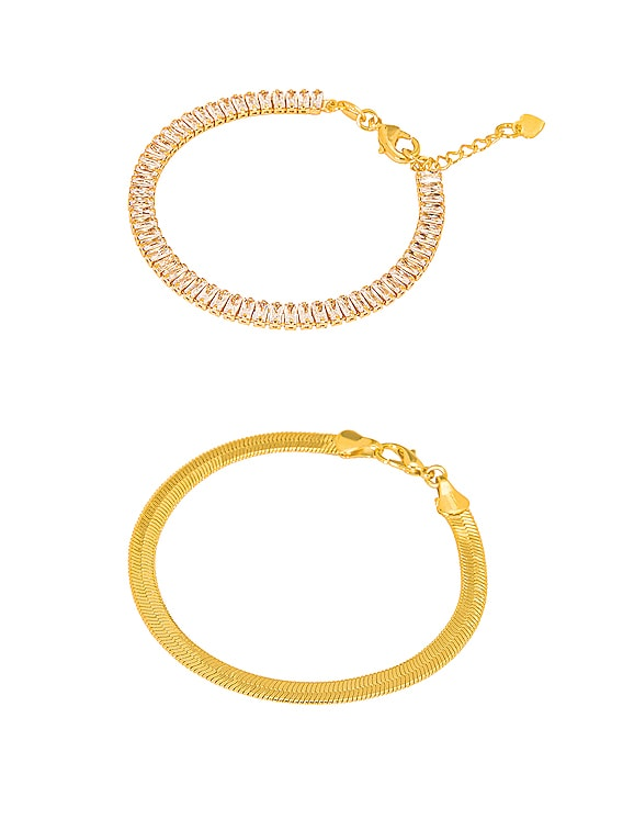 for FWRD Cosmo Bracelet Stack in Gold