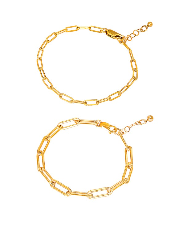 for FWRD Le Duo Bracelet Stack in Gold