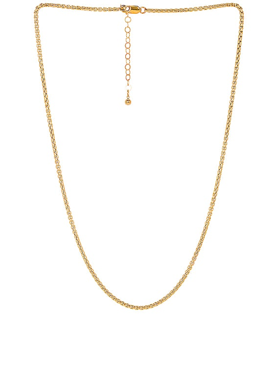 Teagan Necklace in Gold