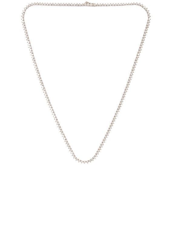 Glitz 2 Necklace in Silver