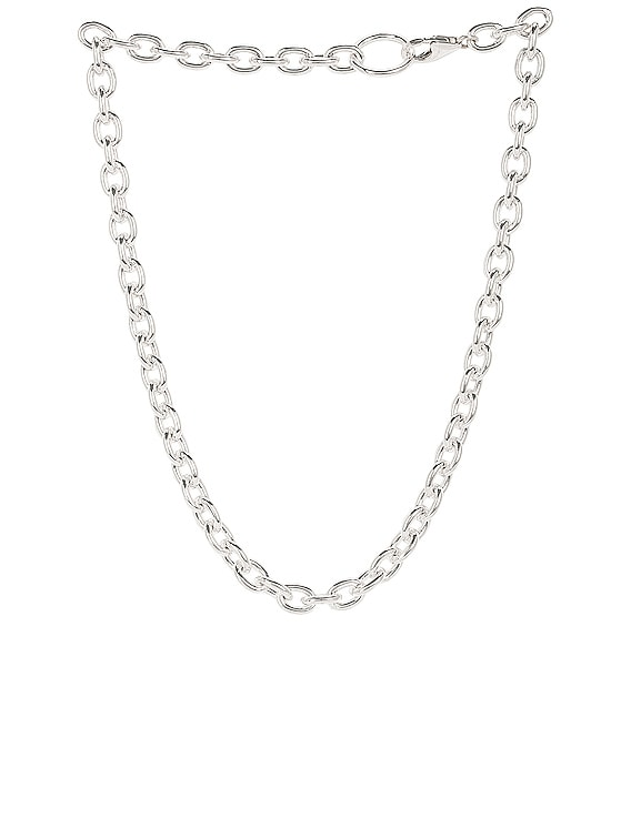Roxy Necklace in Silver