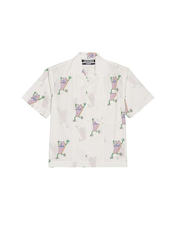 Jean Shirt in White