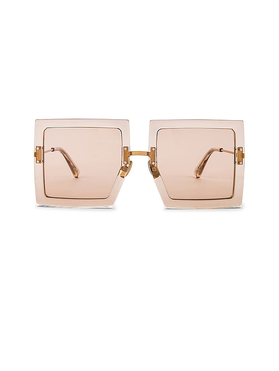 Les Lunettes Carrees in Beige