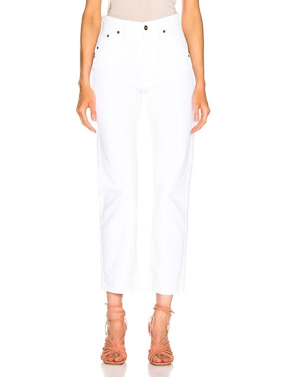 Le Jean in White