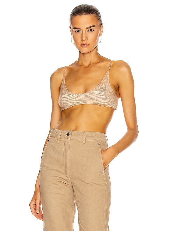 Le Bandeau Valensole in Camel Stripes