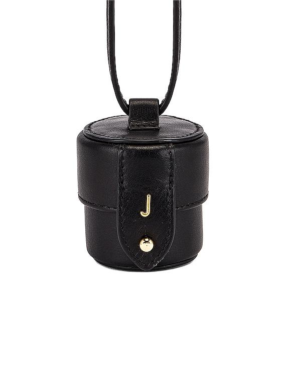 Le Micro Vanity Bag in Black