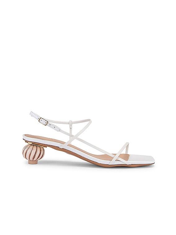 Les Sandales Manosque in White