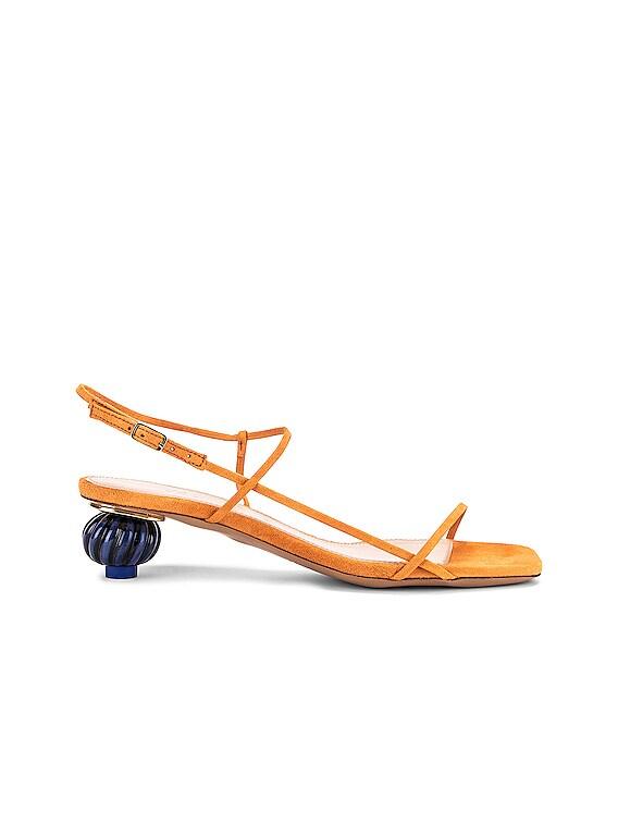 Les Sandales Manosque in Orange
