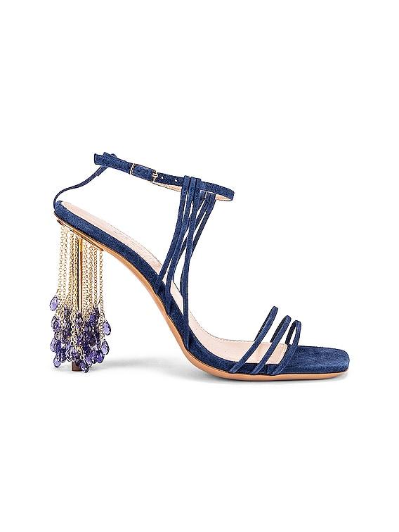 Les Sandales Lavandes in Blue