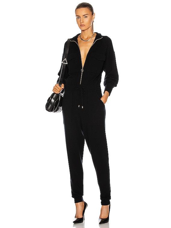 Iman Flight Suit in Black