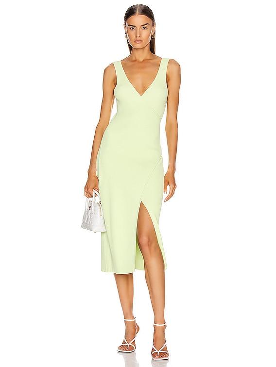 Milani Knit Dress in Pear