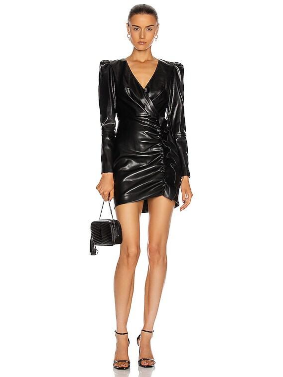 Catalina Mini Dress in Black