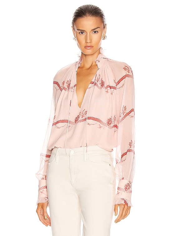 Monica Rose Top in Blush