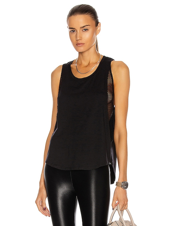 Adriana Brisa Tank in Black