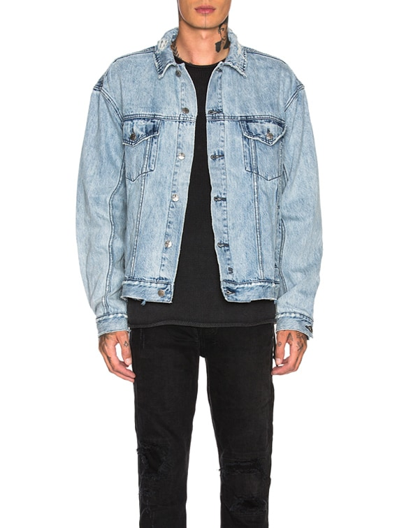 Oh G Acid Trip Jacket in Denim