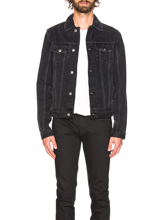 Classic Jacket in Sketchy Black