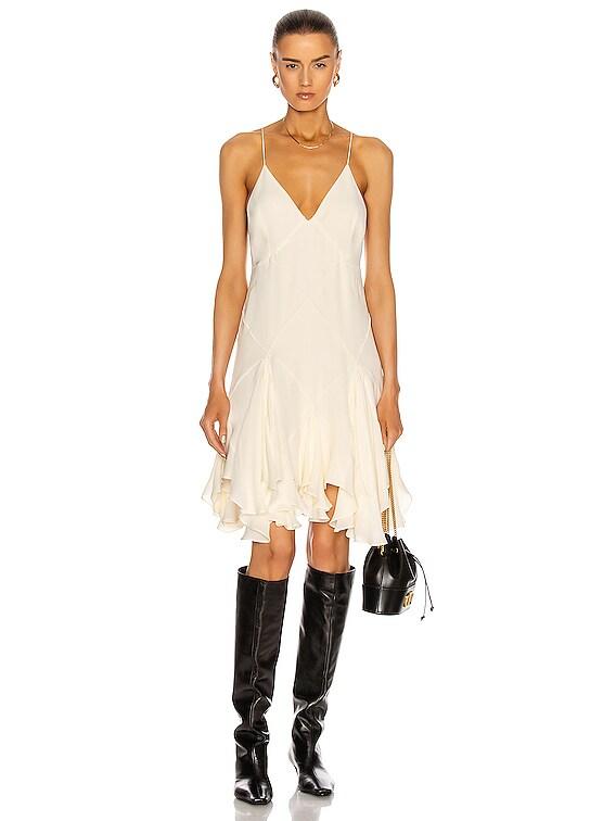 Harlequinn Dress in Ivory