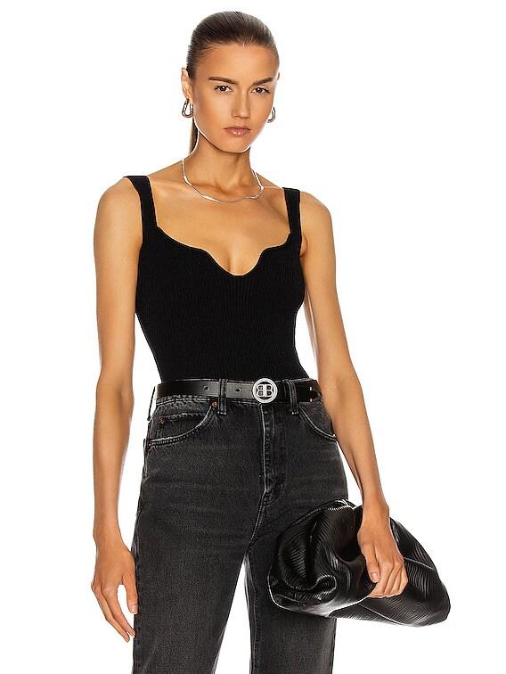 Yves Bodysuit in Black