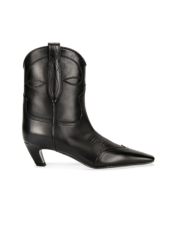 Dallas Ankle Boots in Black