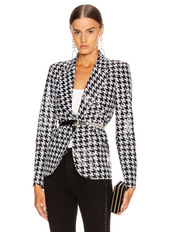 Chamberlain Blazer in Black & White
