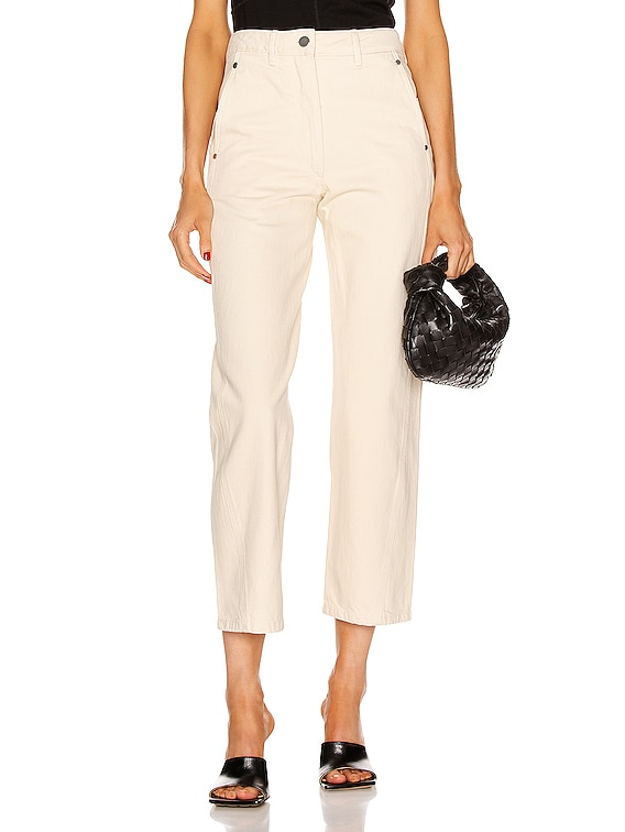 Twisted Pant in Cream