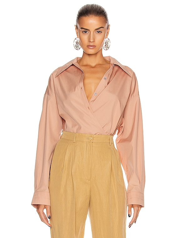 Twisted Top in Camel